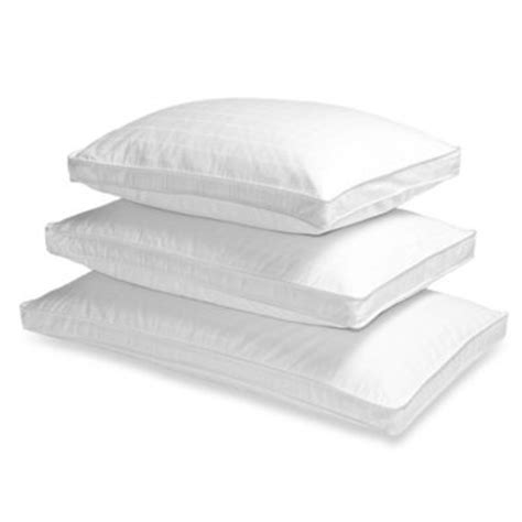 wamsutta 174 collection side sleeper white goose down pillow buy brookstone 174 better than down 174 side sleeper standard