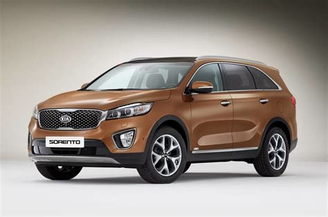Kia Suvs 2015 2015 Kia Sorento Revealed Australian Lineup Confirmed