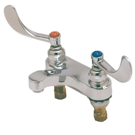 Commercial Plumbing Supplies by T S Brass B 0890 4 In Heavy Duty Restroom Faucet Etundra