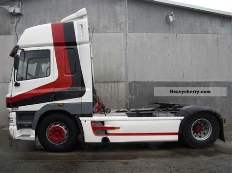daf cf 85 430 intarder webasto air 2004 standard tractor trailer unit photo and specs
