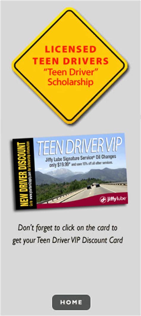 Www Apply Jiffy Lube Driver Scholarship Colorado