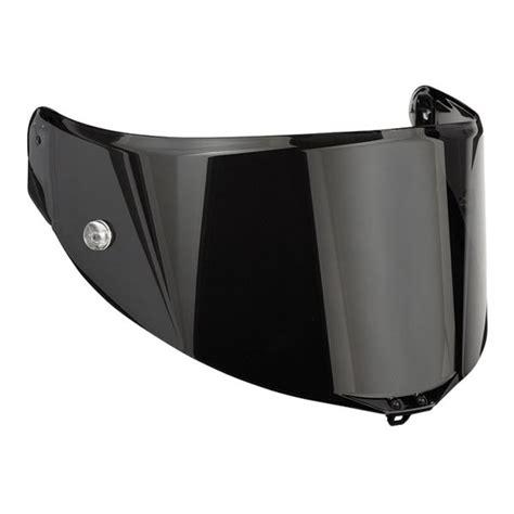 Helm Agv Visor Agv Race 2 Smoke Visor For Helmets Pista Gp Corsa