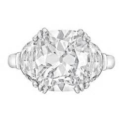 3 Carat Cushion Cut 3 63 Carat Cushion Cut Platinum Engagement Ring At