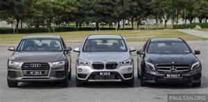 Bmw And Audi Bmw Leads Mercedes Audi In 2015 Sales Charts