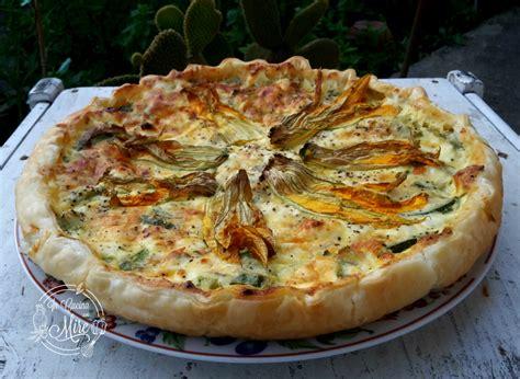 fiori di zucca e zucchine ricette torta salata zucchine ricotta e fiori di zucca in cucina