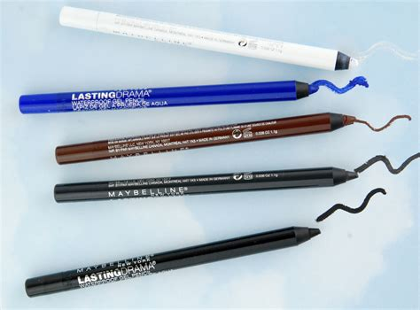 Maybelline Waterproof Eyeliner Pencil maybelline lasting drama waterproof gel eye pencil review swatch and review
