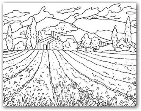 imagenes de paisajes que se puedan dibujar dibujos de paisajes para colorear