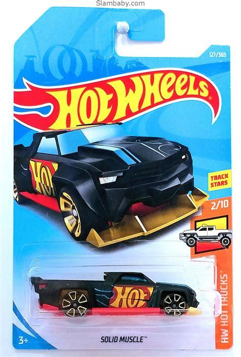 hot wheels solid muscle black  hw hot trucks