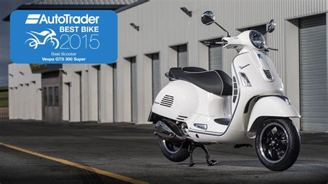 best scooter 2015 2015 best scooter vespa gts 300 best bike awards