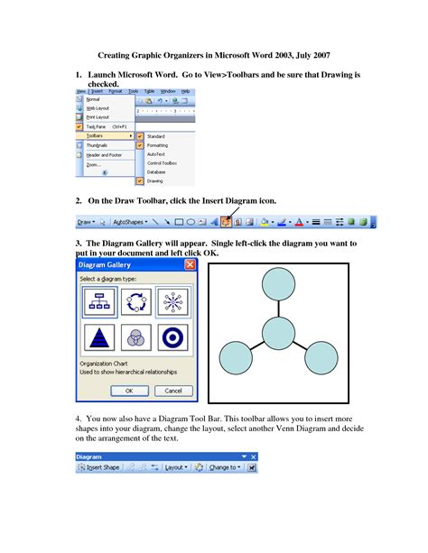 graphic organizers template word 15 graphic organizer templates microsoft word images
