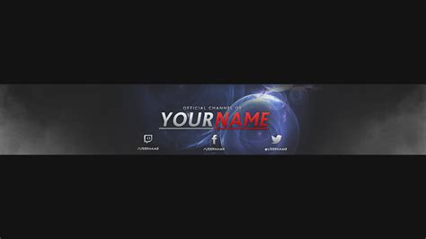 layout youtube banner 2016 free youtube banner template psd new 2016 youtube