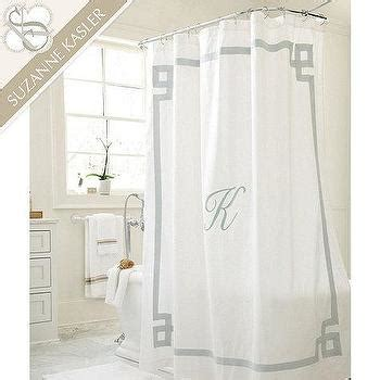 monogrammed shower curtain pottery barn newport monogrammed shower curtain neiman marcus