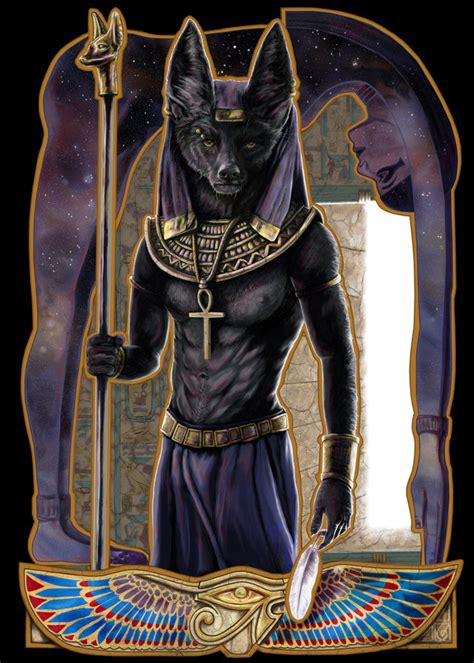 anubis by janiceduke on deviantart