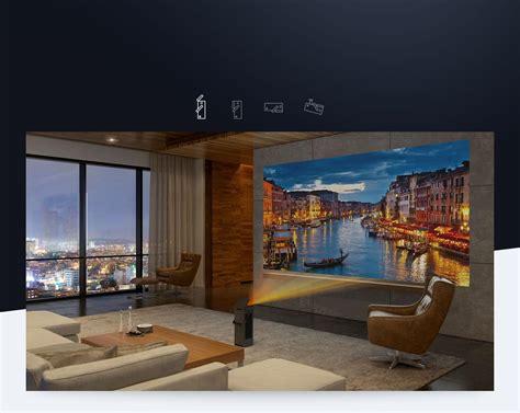 lg huka  uhd laser smart home theater cinebeam projector