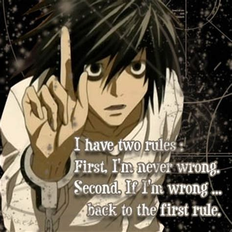 L Quotes by Most Profound L Lawliet Quote From Note L