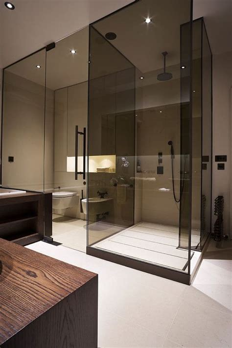Smoked Glass Shower Doors Trend Alert Smoked Glass Fads Blogfads