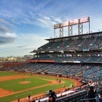 go section 8 san francisco ca club level at at t park view from our club level seats