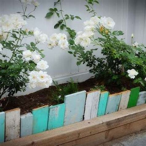 wood flower bed border 20 gorgeous garden bed edging ideas that anyone can do