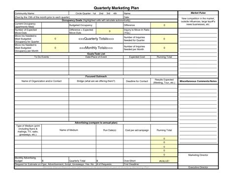 quarterly business plan template best photos of quarterly planner template 3 month calendar 2015 excel template quarterly