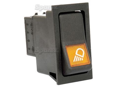 s 23160 rocker switch rear work light for massey ferguson