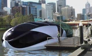 Home Design Concepts Of The Future Crescasa Houseboat Concept By Tom Pearce Floating Houses