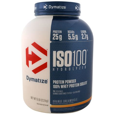 New Dymatize Iso 100 1 Lbs Ecereceranketengrepack Whey Prote T3009 2 dymatize nutrition iso 100 hydrolyzed 100 whey protein isolate orange dreamsicle 5 lbs 2 3