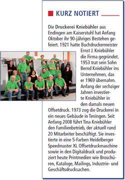 Etiketten Drucken Freiburg by Presseartikel Aus Leidenschaft Druck Knieb 252 Hlerdruck