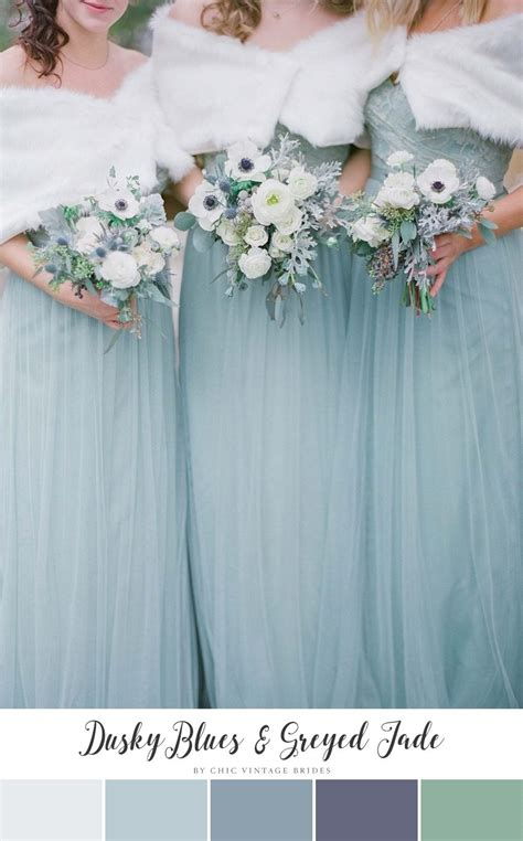 colour themes for a winter wedding 11 beautiful winter wedding colour palettes chic vintage
