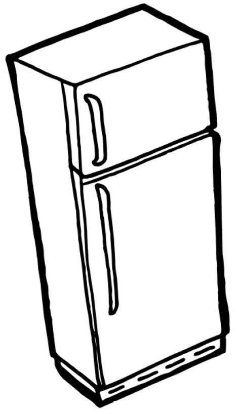 dibujos para colorear im genes para colorear clipart dibujo de refrigeradora para pintar y colorear colorear