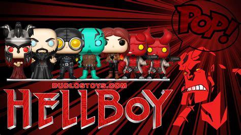 Funko Pop Rasputin Hellboy Comics duclos toys figures collectibles toys 187 funko pop comics hellboy