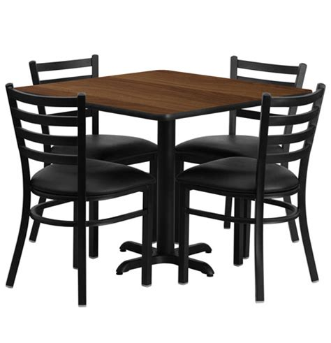 Restaurant Dining Tables And Chairs Cafeteria Breakroom Square Dining Table Sets Restaurant Tables Chairs