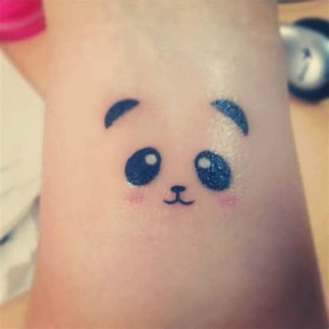 panda face tattoo 30 best panda tattoos on forearm