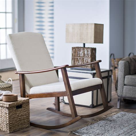 modern rocking chair  nursery homesfeed
