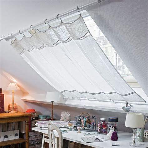 gardinen ideen fur dachfenster gardine f 252 r dachfenster deko dachfenster