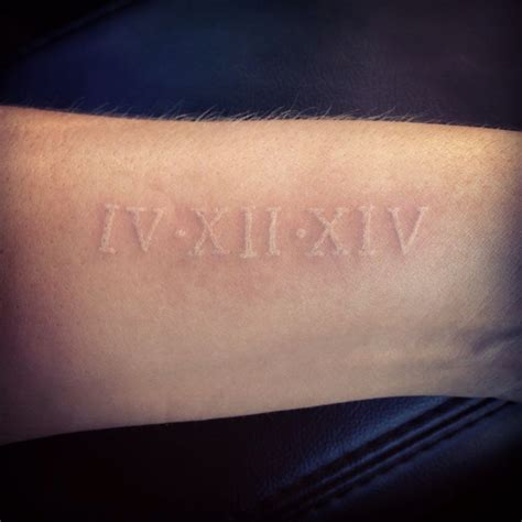 tattoo dates 25 best ideas about numerals dates on
