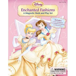 Magnetic Book Princess disney princess enchanted fashions a magnetic book and play set