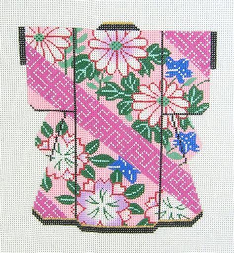 kimono needlepoint pattern 1000 images about cross stitches japanese patterns on