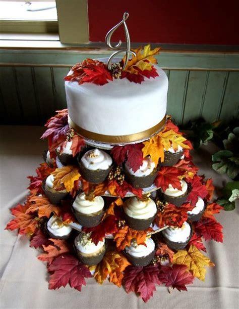 Fall Themed Wedding Cakes – Fall, Autumn Wedding Cake Designs