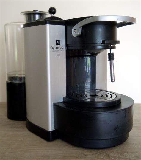 Es Coffee machine 224 caf 233 professionnelle nespresso pro es80 catawiki