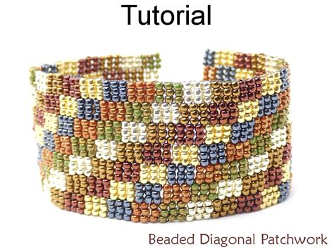 peyote beading tutorial beading tutorial bracelet 3 drop peyote stitch simple