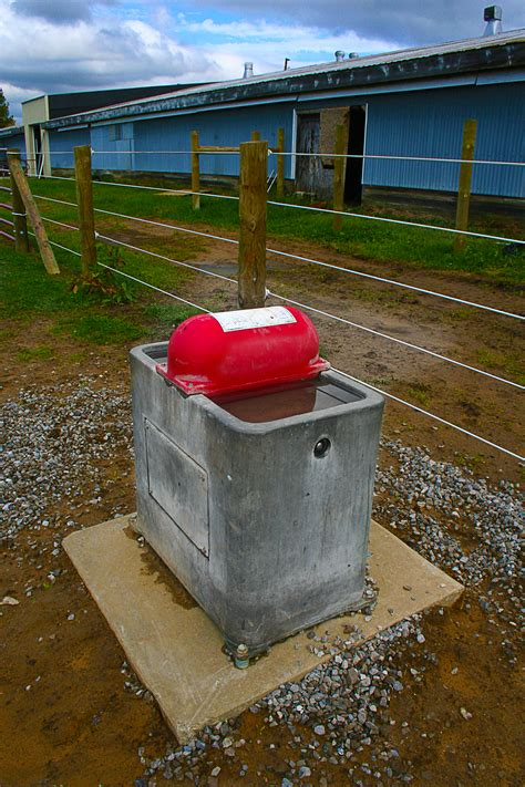 automatic waterer automatic pasture waterer installation photo