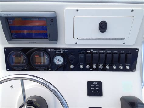 pathfinder boat switch panel master repair switch panel rebuild pathfinder the hull