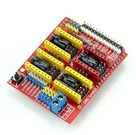 Arduino Cnc Shield V3 4 Driver A4988 arduino uno r3 cnc shield v3 4 pcs a4988 pololu drivers