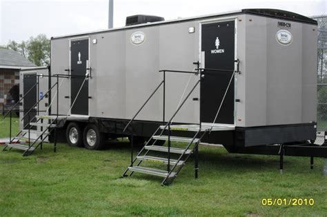 comforts of home restroom trailers 10 best the plush flush luxury series restroom trailers