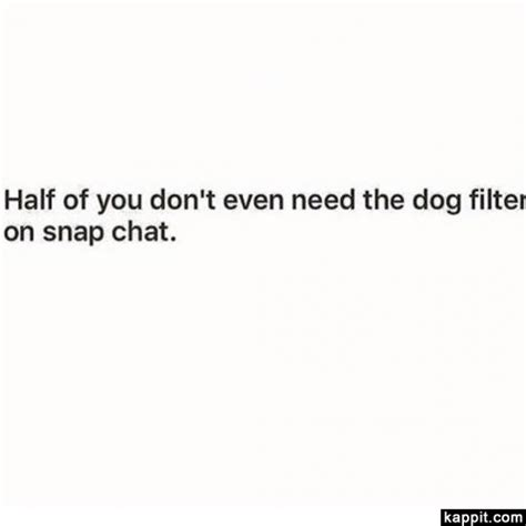 dont    dog filter  snap chat