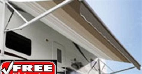9100 Power Awning by A E 18 9100 Power Awning W Vinyl Weathershield