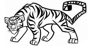 tiger template tiger outline template www pixshark images