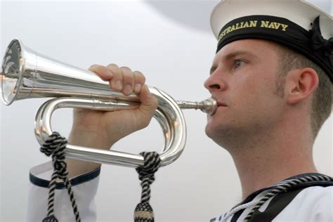 tattoo army bugle call file us navy 030901 n 3228g 001 a sideboy aboard the royal