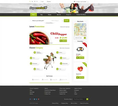 online shopping template for asp net free download 29 grocery store website themes templates free