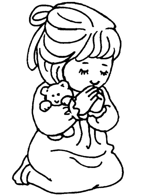 praying coloring pages praying coloring page